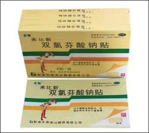 GMP Certified Diclofenac Sodium Transdermal Patch / Diclofenac Patch
