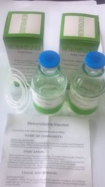 China GMP Certified Metronidazole Injection Small Volume Injection Pharmaceutical Transfusion factory