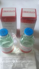 China Small Volume Injection Ciprofloxacin Lactate Injection Nearly Colorless Liquid factory