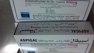 Pharmaceutical Grade Antibacterial Medicine Aspirin Dl Lysine For Injection