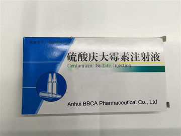 Powder for Injection GMP Certified Gentamycin Sulfate Injection