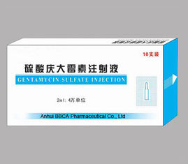 Powder for Injection Made in China Gentamycin Sulfate Injection