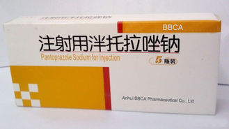White Medicine Grade Pantoprazole Sodium Sesquihydrate For Injection