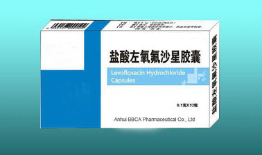 Hydrochloride Levofloxacin Capsules Pharmaceutical Grade White Or Light Yellow