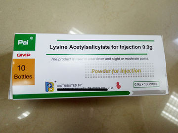 BBCA Aspirin-DL-Lysine for Injection 0.9gx10 bottles,8kgs/10kgs/tin