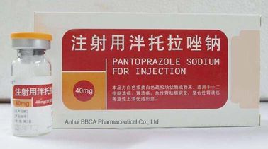 Vials Packing Powder For Injection Pantoprazole Sodium 40mg / 80mg