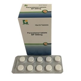 China Biochemical Paracetamol Tablets / Acetaminophen Tablet With 500mg / 250mg factory