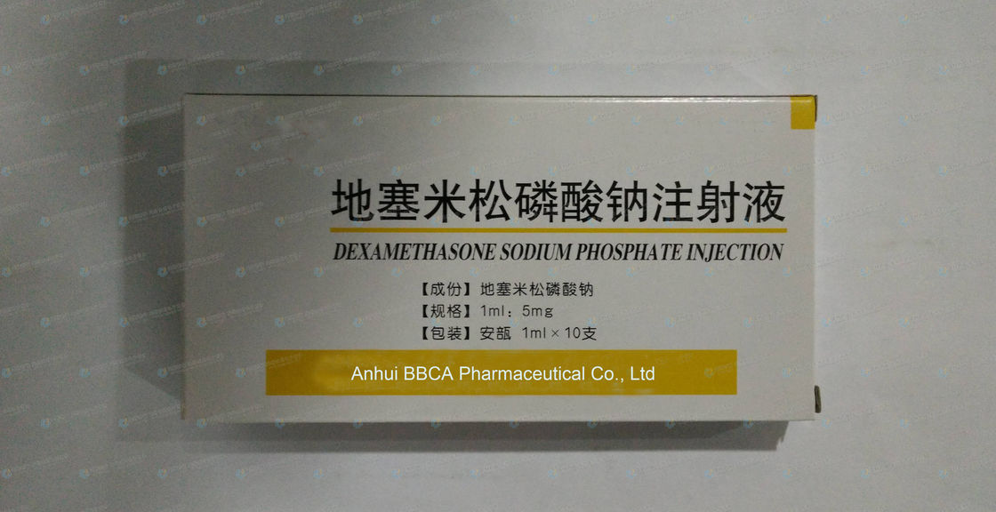 Ampoules Packing Dexamethasone Sodium Phosphate Injection Intravenous Drip supplier