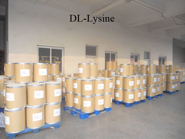 DL - Lysine 99.0%Min Cardiovascular Drugs White Powder With CAS 70-54-2 supplier