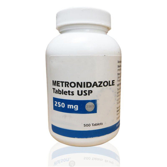 Pharmaceutical Tablets Pharmaceutical Grade Metronidazole Tablet 250mg supplier