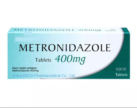 BBCA GMP Certified Metronidazole Tablets 400mg Medicine Grade supplier
