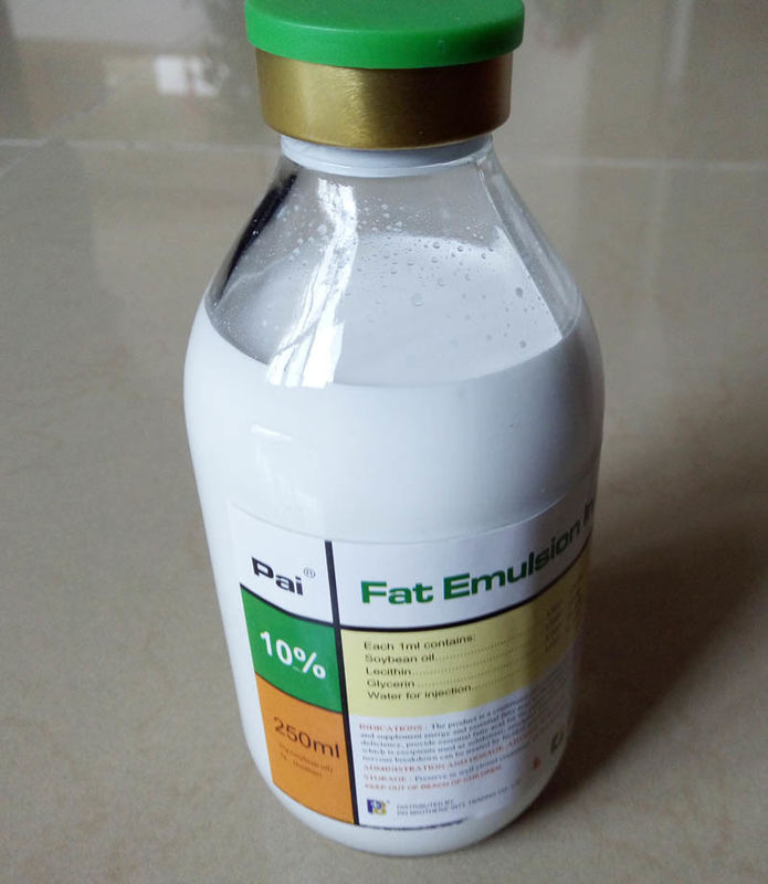 Intralipid Fat Emulsion Injection, Medicine Garde , Milky White Liquid C14-24 supplier