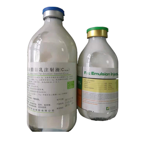 C14-24 Intralipid Fat Emulsion Injection Medicine Grade Milky White Liquid supplier