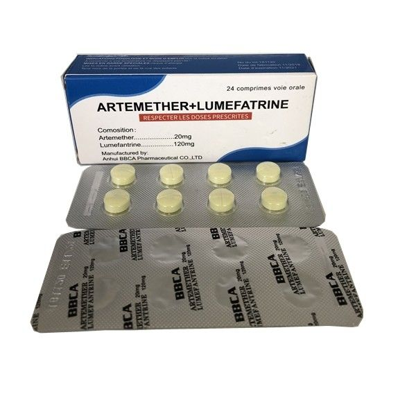 Compound 80/480 Artemether Lumefantrine Tablets supplier